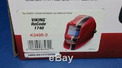 Lincoln Viking 1740 ReCode Variable Shade Auto Darkening Welding Helmet