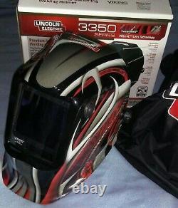 Lincoln Viking 3350 4-C Twisted Metal Welding Helmet K3248-4