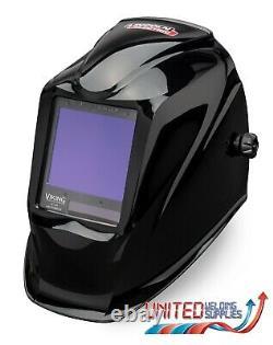Lincoln Viking 3350 4C Black Auto Darkening Welding Helmet, 3 Year Warranty