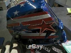 Lincoln Viking 3350 All American Auto Darkening Welding Helmet
