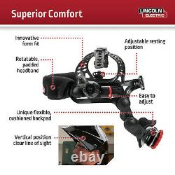 Lincoln Viking 3350 Black Auto-Darkening Welding Helmet K3034-4