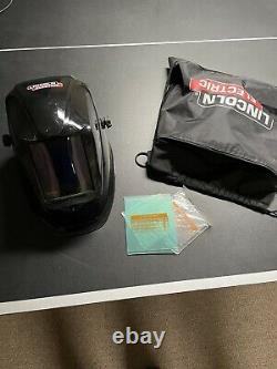 Lincoln Viking 3350 Black Auto Darkening Welding Helmet. Top of the line helmet