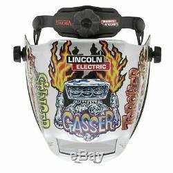 Lincoln Viking 3350 Hot Rodders Auto Darkening Welding Helmet 4C Lens (K4440-4)