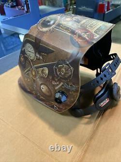 Lincoln Viking 3350 Steampunk Auto Darkening Welding Helmet with4C Lens (K3428-4)