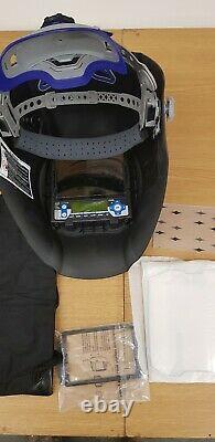 Lincoln Weldline GOLDENARK Auto Darkening Welding Helmet Shade 4/5 -13