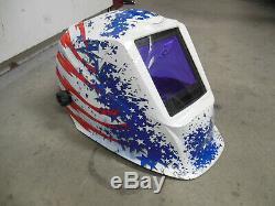 Lincoln electric viking 3350 Auto-Darkening welding helmet shade 6-13