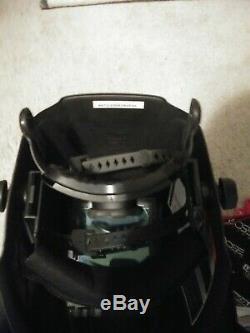 Lincoln welding helmet auto darkening