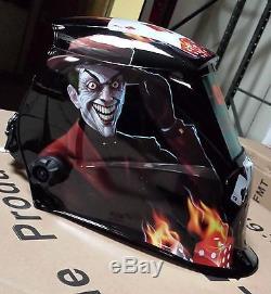 MGM Arc Tig mig certified mask Auto Darkening Welding Helmet+Grinding Hood Joker