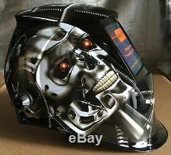MSL New Auto Darkening Welding/Grinding Helmet certified mask cheater-lens-ready