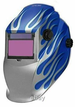 Metal Man ASB8735SGC 9-13 Variable Shade Professional Auto-Darkening Welding