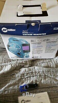Miller 259 485 Vintage Roadster Digital Elite Auto Darkening Welding Helmet