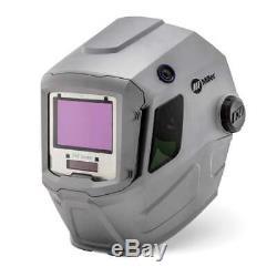Miller 260482 T94 Series Auto Darkening Helmet with External Grinding Control