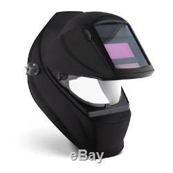 Miller 260938 Classic Series VSi Auto Darkening Welding Helmet, Black