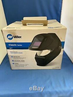Miller 260938 Classic Series VSi Auto Darkening Welding Helmet Black