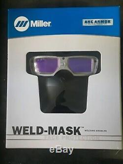 Miller 267370 Weld-Mask Auto-Darkening Welding Googles Silver