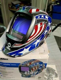 Miller 280049 Digital Infinity Welding Helmet Stars and Stripes