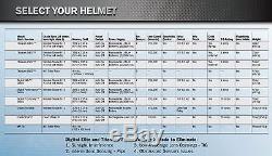 Miller Blue Rage Digital Performance Auto Darkening Welding Helmet (282001)