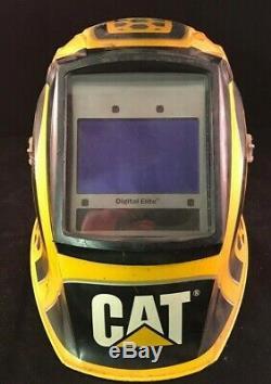 Miller Cat Edition 1 Digital Elite Auto Darkening Welding Helmet
