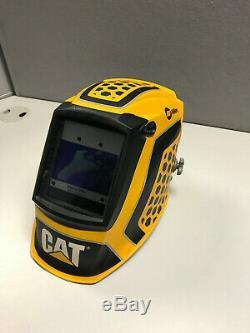 Miller Cat Edition 1 Digital Elite Auto Darkening Welding Helmet (281006) USED