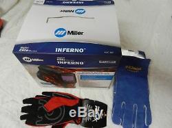 Miller Digital Elite Series Inferno Auto Darkening Welding Helmet 257217 NEW