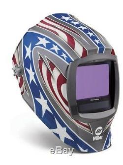 Miller Digital Infinity ADF Helmet 13.4sq in viewable STARS & STRIPES 271330