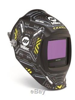 Miller Digital Infinity Auto Darkening Welding Helmet Black Ops