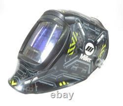 Miller Digital Infinity Black/Yellow Auto Darkening Welding Helmet Adjustable