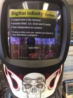 Miller Digital Infinity Departed Auto-Darkening Welding Helmet 271332