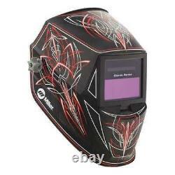 Miller Electric 271349 Welding Helmet, Auto-Darkening Type, Nylon