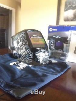 Miller Lucky's Speed Shop Elite Auto Darkening Welding Helmet