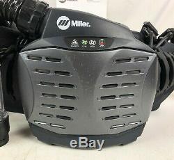 Miller PAPR System T94i-R Auto Darkening Welding Helmet with Respirator