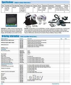 Miller PAPR withTitanium 9400 Auto Darkening Helmet (264879)