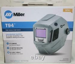 Miller T94 Auto-Darkening Welding Helmet With External Grinding #260482 460