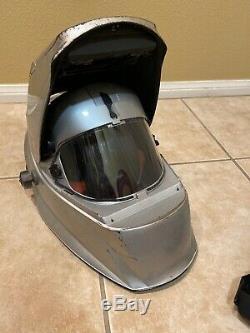Miller Titanium 9400 Powered Air Purifying Respirator Auto Darkening Helmet