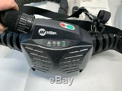 Miller Titanium 9400 Powered Air-Purifying Respirator Welding Helmet with case