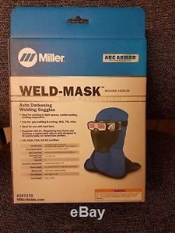 Miller Weld-Mask Auto Darkening Welding Goggles (267370)