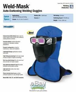 Miller Weld-Mask Auto Darkening Welding Goggles 267370