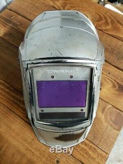 Miller auto darkening welding helmet
