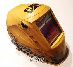 Miller welder Co. CAT Edition Digital Elite Auto Darkening Welding Helmet Hood