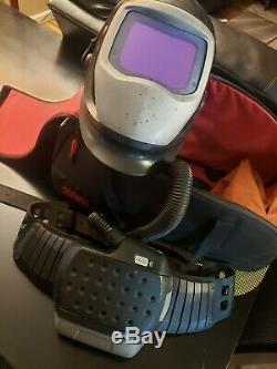 NEW 3M Speedglas 9100XX ADF Adflo 9100 FX-Air PAPR Welding Respirator Li-Ion