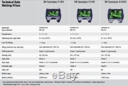 NEW 3M Speedglas 9100XX With Side Windows Auto-Darkening Welding Helmet, Speedglass