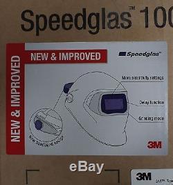 NEW & IMPROVED 3M Speedglas 100 Black Welding Helmet with Auto-Darkening