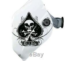 NEW Jackson ACE OF SPADES NEXGEN HLX HALO X Auto Darkening Welding Helmet 9-13