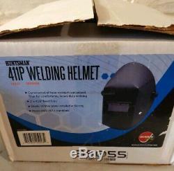 NEW Jackson Huntsman 411P Welding Helmet withSolera Shade 11 Auto Darkening Lens