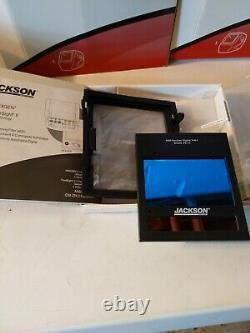 NEW Jackson Shadow Nexgen WF60 Auto Darkening Welding Hood hsl100 BLACK