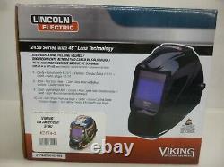 NEW! LINCOLN ELECTRIC Welding Helmet, Black, 2450 Series K3124-3