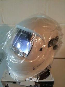 NEW Optrel e680 Auto Darkening Welding Helmet WHITE HOOD no box speedglas