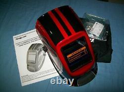 NEW Snap-on YA4601 High Definition Adjustable Auto Darkening Welding Helmet NIB