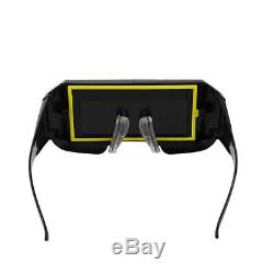 NEW Solar Powered Auto Darkening Welding Mask Helmet Eyes Goggle Welder Glasses