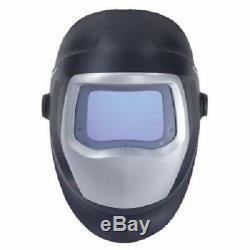 NEWEST 3M Speedglas 9100V Auto-Darkening Black Welding Serviceable Helmet 5 8-13